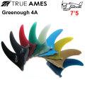 True Ames Fin トゥルーアムス フィン GEORGE GREENOUGH 4A 7.5 ジョージグリノーフィン ロングボード用 センターフィン