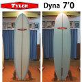 [follows40周年記念特別価格] TYLER SURFBOARDS タイラー サーフボード DYNA 7'0 ダイナ ミッドレングス ファンボード FUN BOARD [条件付き送料無料]