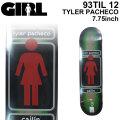 GIRL ガール スケートボード デッキ 93 TIL12 TYLER PACHECO タイラー・パチェコ [GL-1] スケボー パーツ SKATE BOARD DECK