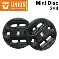 UNION BINDING ユニオン ビンディング Mini Disc ミニディスク [ 2×4 BURTON EST チャンネルシステム対応 ] バインディング パーツ スノーボード