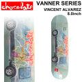 CHOCOLATE スケートボード デッキ チョコレート VANNER SERIES VINCENT ALVAREZ ヴィンセント・アルバレス [CH-32] 8.0inch スケボー パーツ SKATE BOARD DECK