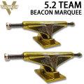 ベンチャー トラック  VENTURE TRUCK スケートボード トラック 5.2 TEAM [BEACON MARQUEE] パーツ [22]