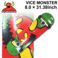 TOY MACHINE トイマシーン スケートボード followsオリジナル コンプリート VICE MONSTER (8.0 × 31.38) [TM-118] 完成品 スケボー SKATE BOARD COMPLETE