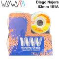 Wayward Wheels ウェイワード ウィール Diego Najera ディエゴ・ナヘラ 52mm 101A [W2] スケートボード スケボー パーツ SK8 SKATE BOARD