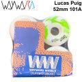 Wayward Wheels ウェイワード ウィール Lucas Puig ルーカス・プイグ 52mm 101A [W4] スケートボード スケボー パーツ SK8 SKATE BOARD