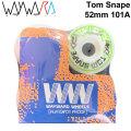 Wayward Wheels ウェイワード ウィール Tom Snape トム・スネイプ 52mm 101A [W6] スケートボード スケボー パーツ SK8 SKATE BOARD