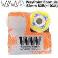 Wayward Wheels ウェイワード ウィール Way Point Formula ウェイポイント フォーミュラ 52mm 83B 103A相当 [W7] スケートボード スケボー パーツ SK8 SKATE BOARD