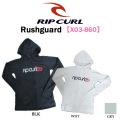 2015 RIP CURL リップカール レディース ラッシュガード X03-860【Rushguard】フード付き 長袖
