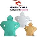 RIP CURL リップカール レディース ラッシュガード X03-869【Rushguard】フード付き 長袖 [旧]