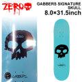 ZERO ゼロ スケートボード デッキ THOMAS ROLL TIL DEATH 8.25インチ [Z-2] スケートデッキ スケボー パーツ SK8 SKATE DECK