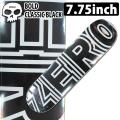 ZERO ゼロ スケートボード デッキ BLOD CLASSIC BLACK 7.75インチ [Z-4] スケートデッキ スケボー パーツ SK8 SKATE DECK
