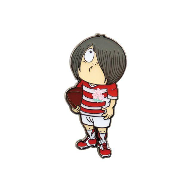 【ラグビー日本代表】ゲゲゲの鬼太郎 ピンバッジ