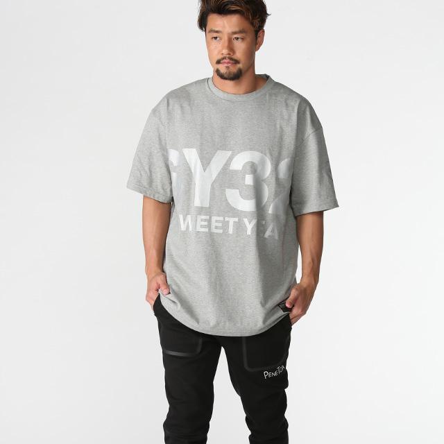 【50%OFF!】ビッグシルエット ロゴTシャツ《ペネトア(PeneTO'A)×SY32コラボ》 ペネトアビックロゴTシャツ