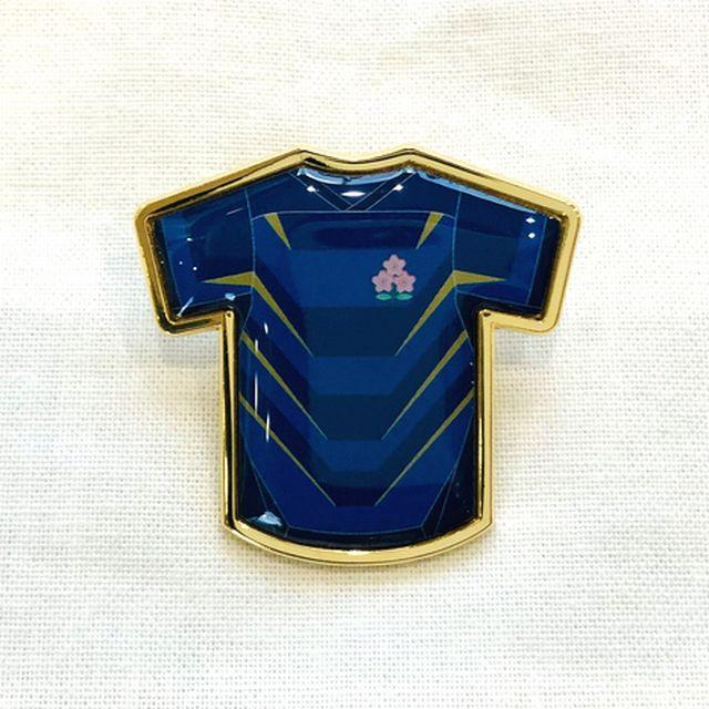 【ラグビー日本代表】ピンバッジ(2ndジャージ)