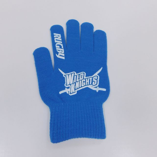 《ワイルドナイツ》ニット手袋