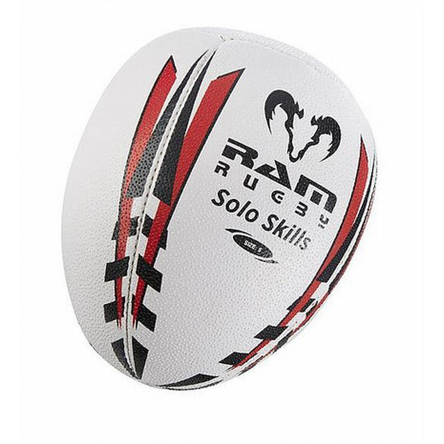 【RAM RUGBY】ソロトレーニングボール(5号球)
