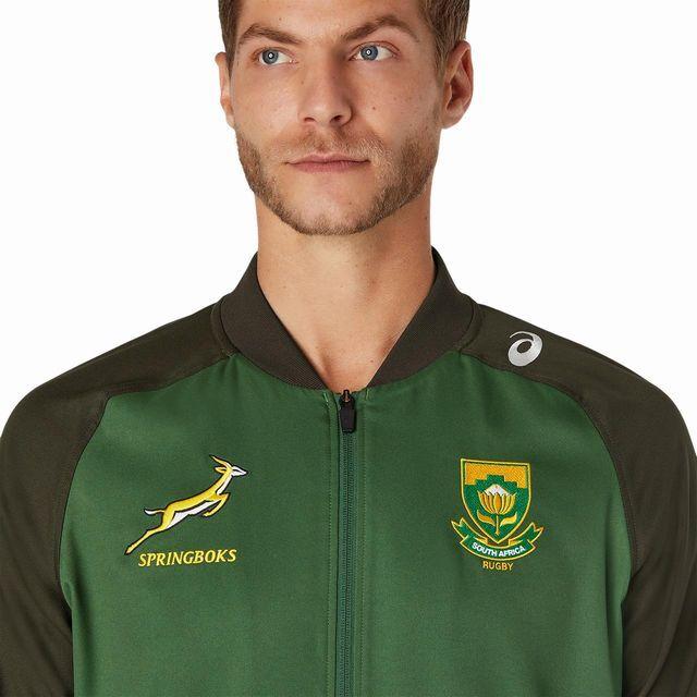 アシックス,南アフリカ,スプリングボクス,プレゼンテーションジャケット