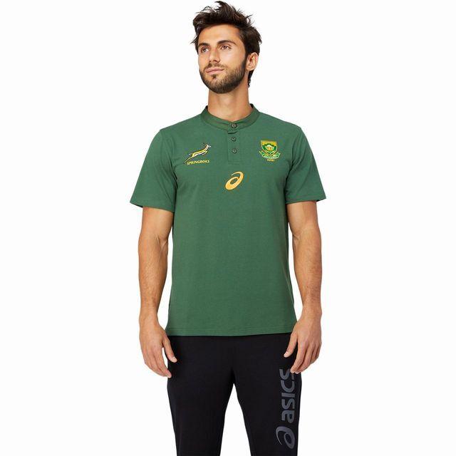 アシックス,南アフリカ,スプリングボクス,ポロシャツ