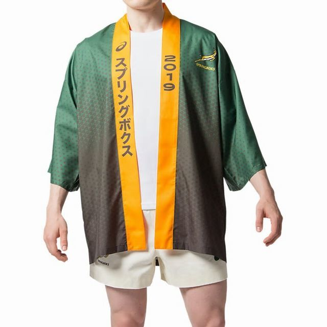 南アフリカ代表 スプリングボクス 日本限定 ハッピジャケット