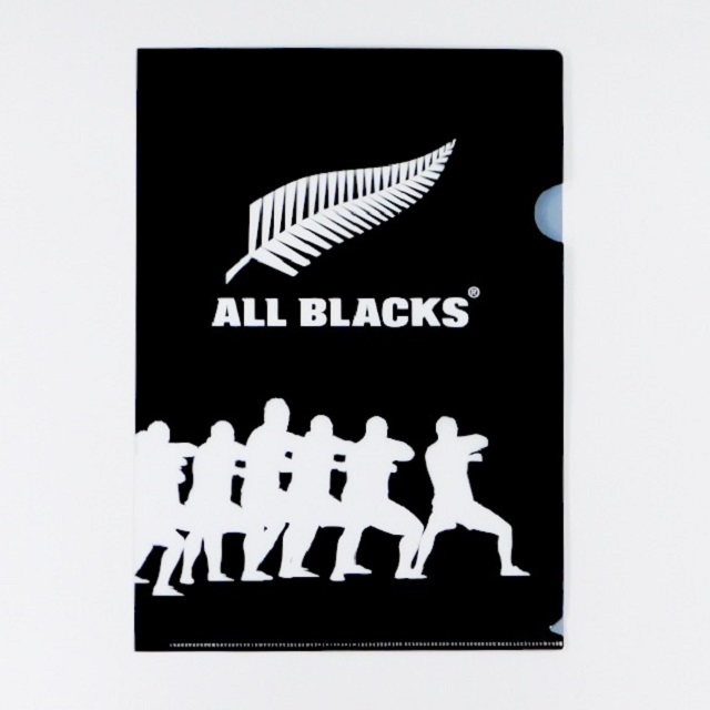 【ALL BLACKS】オールブラックス クリアファイル(2枚セット) [AB31924]