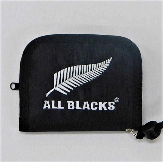 【ALL BLACKS】オールブラックス ラウンドウォレット [AB31925]