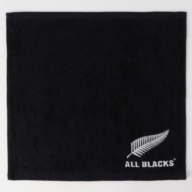 【ALL BLACKS】オールブラックス エンブレムハンドタオル [AB31934]
