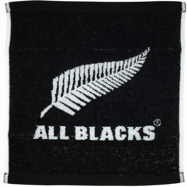 【ALL BLACKS】ジャガード織ハンドタオル