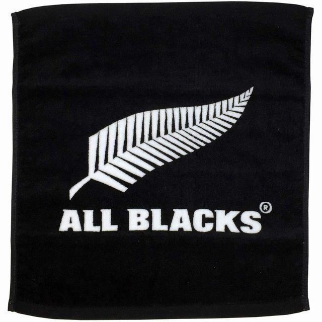 【ALL BLACKS】染料プリントハンドタオル