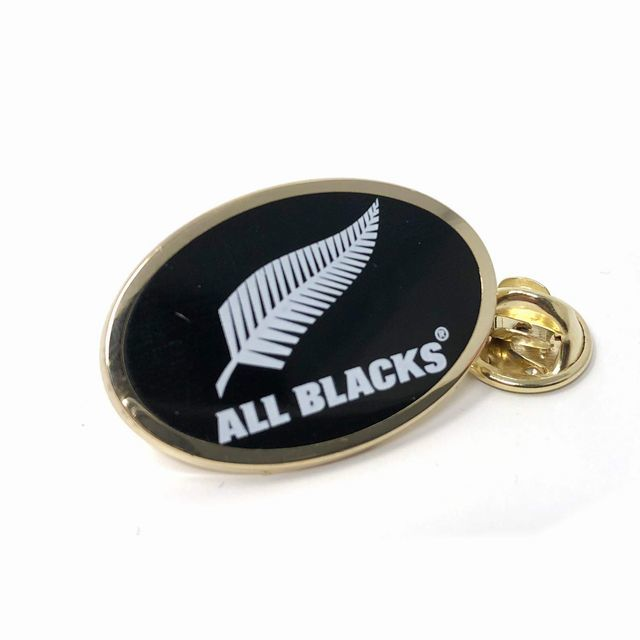 【ALL BLACKS】ピンバッジ(ロゴ)