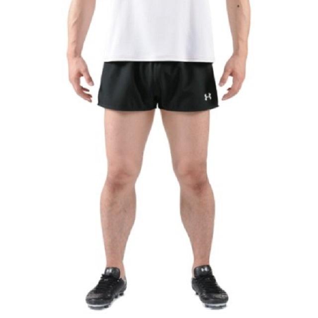 【アンダーアーマー】ラグビープラクティスショートパンツ(カラー:ブラック、ホワイト、サイズ:S~4XL)[MRG7098]