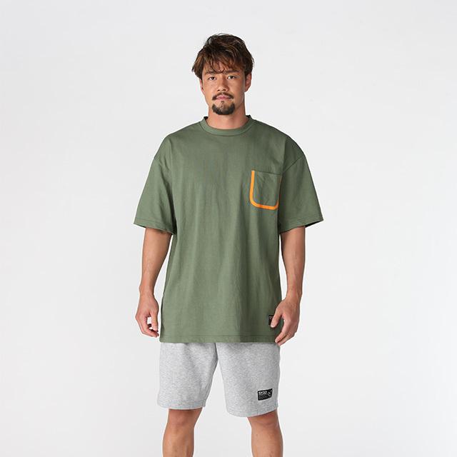 【50%OFF!】ビッグシルエット ポケットTシャツ《ペネトア(PeneTO'A)×SY32コラボ》 ペネトアビックシルエットポケットTシャツ
