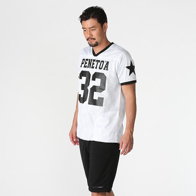 《PeneTO'A×SY32》リバーシブル  メッシュTシャツ