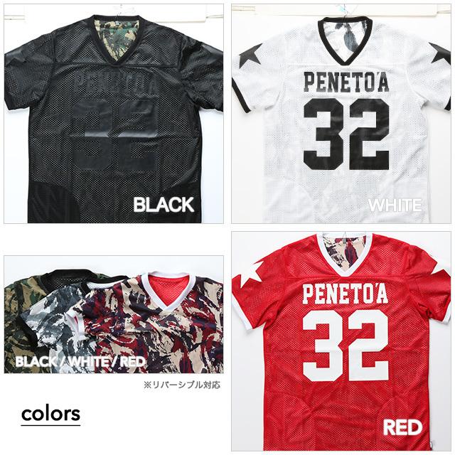 《PeneTO'A×SY32》キッズサイズ メッシュ リバーシブル  Tシャツ