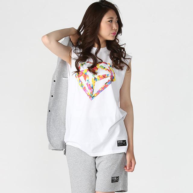 《PeneTO'A×SY32》ビッグシルエットノースリーブ Tシャツ