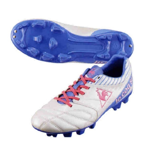 ≪在庫処分SALE≫【le coq sportif】トリムウィッチ SL( カラー:ホワイト×パープル×ピンク/サイズ:23.5cm、24.5cm)[QSC-5351]