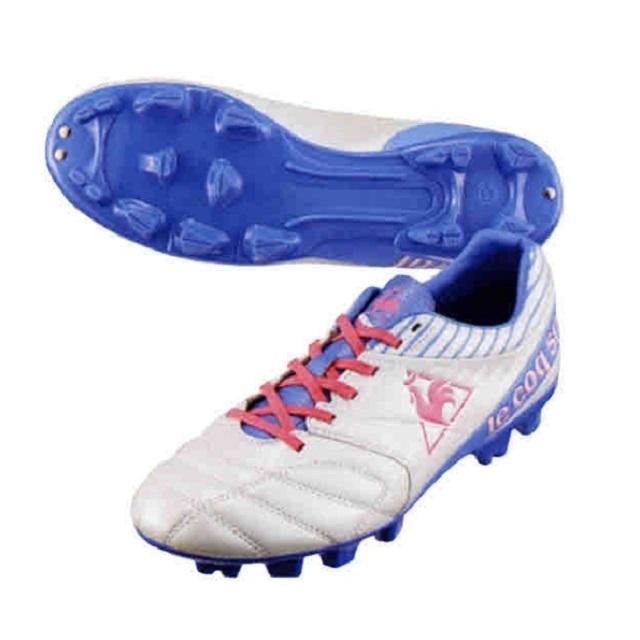 【le coq sportif】トリムウィッチ SL(ホワイト×パープル×ピンク/サイズ:24.5cm)