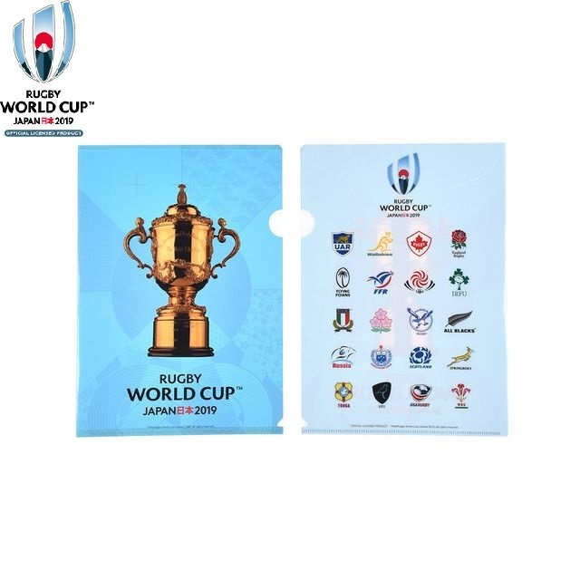 【RWC2019】20 UNIONS COLLECTION クリアファイル[2枚セット]