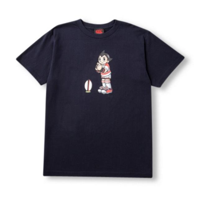 【カンタベリー】日本代表アトムTシャツ [RA35941](ネイビー・レッド/S ~XL)
