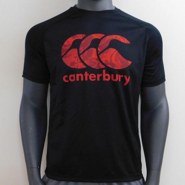 【カンタベリー】トレーニングTシャツ(カラー:ブラック、ブルー、ネイビー/サイズ:S~3L)[RG38508]【1着までメール便(ゆうパケット)対応可】