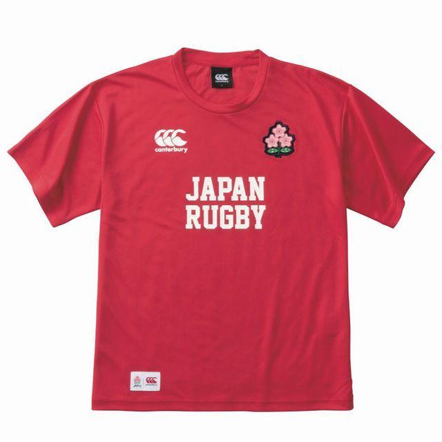 【ラグビー日本代表】ジャパン レッドティーシャツ(メンズ)
