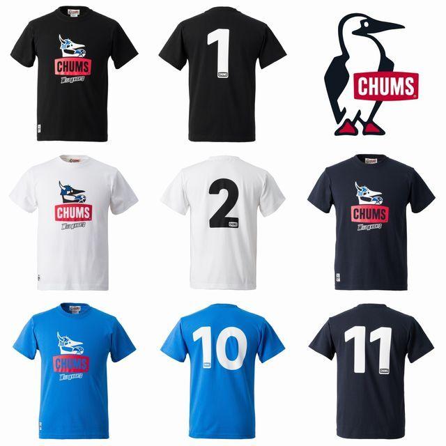 CHUMS,Tシャツ,ワイルドナイツ