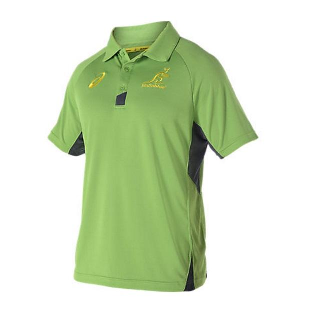 【アシックス】2016 ワラビーズ レプリカトレーニングポロシャツ
