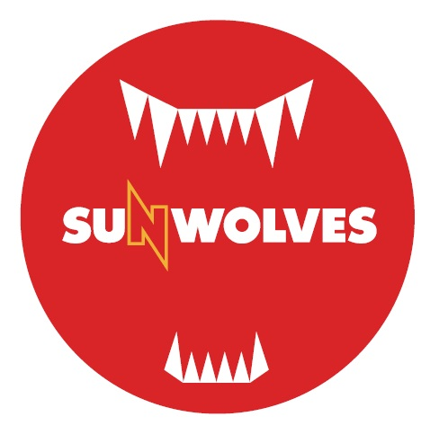 【SUNWOLVES】缶バッジ(レッド)[Button badge]