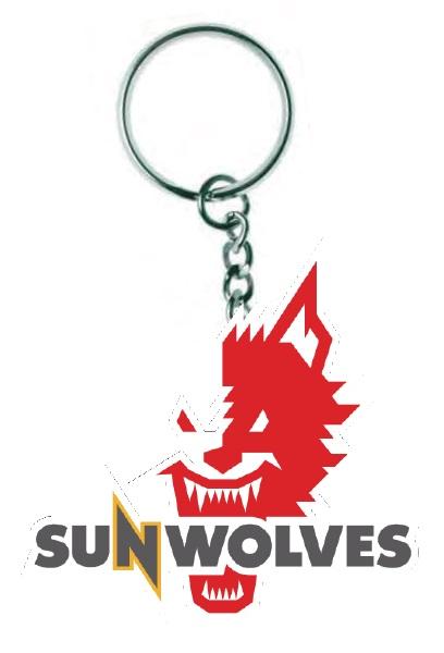 【SUNWOLVES】ロゴキーホルダー