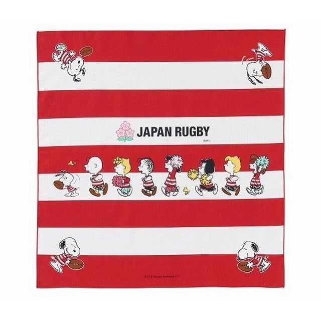 【ラグビー日本代表】スヌーピーコラボ ナフキン【メール便対応可能】