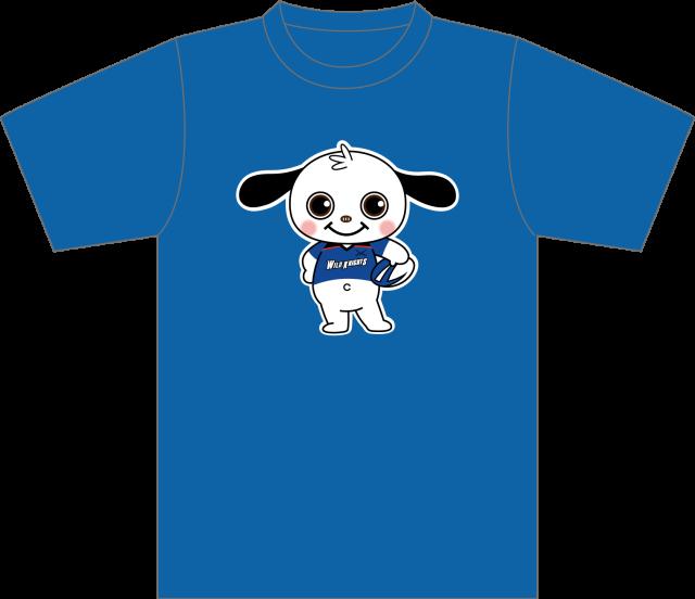 《ワイルドナイツグッズ》ラガマルくんコラボキッズTシャツ/サイズ/120~S【1着までメール便(ゆうパケット)対応可】