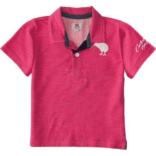 【カンタベリー】ショートスリーブシャツ(キッズ) [RAJ35258]【※セール品の為、購入後の返品交換不可】