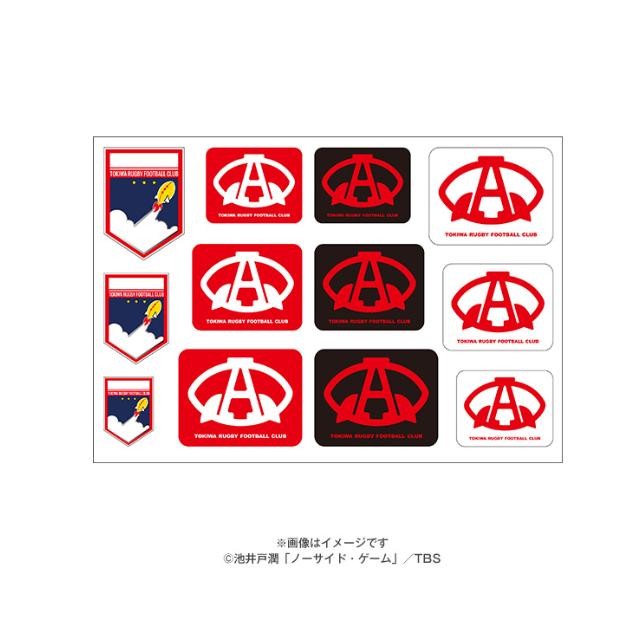 【ノーサイド・ゲーム】アストロズ ロゴステッカー