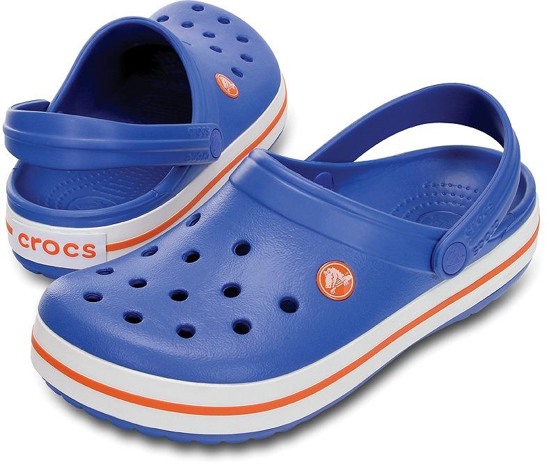 クロックス クロックバンド バーシティブルー/オレンジ crocs crocband versity blue/orange