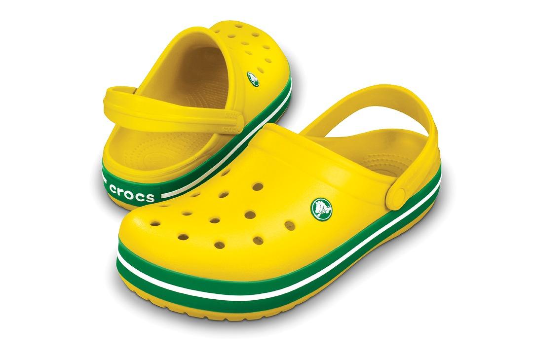 クロックス クロックバンド イエロー/ケリーグリーン crocs crocband yellow/kelly green
